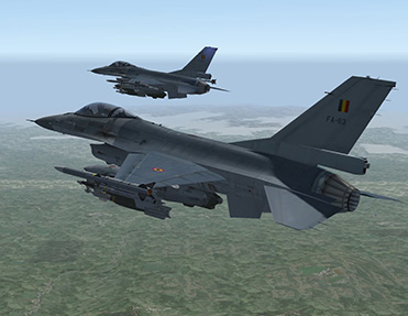 F-16 Mission Air Interdiction
